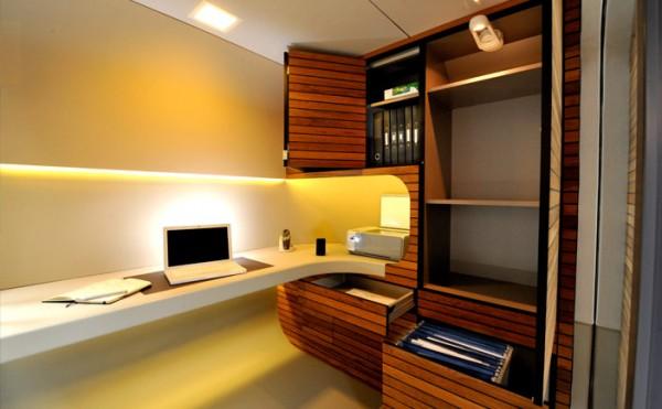 mini escritorio 3 600x371 Mini escritório pré fabricado